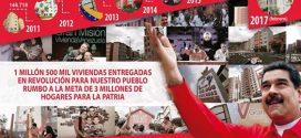 Presidente Maduro: Lograremos entregar los tres millones de hogares dignos