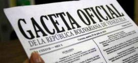 En Gaceta Oficial: Consejos Legislativos no juramentarán a gobernadores que no asistieron a la ANC