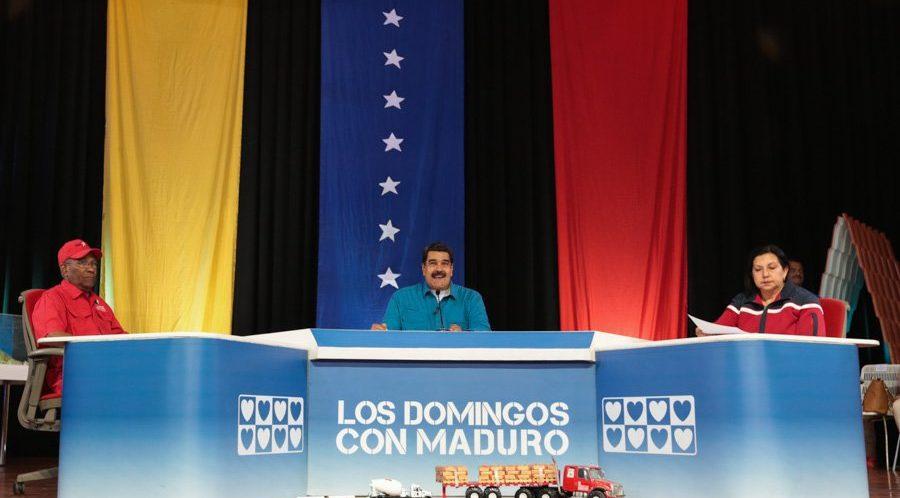 """(Ver en vivo) Presidente Maduro: """"Nosotros somos pacifistas, somos gente de paz"""""""