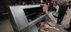Ejecutivo nacional apoya a comerciantes que perdieron sus locales por saqueos
