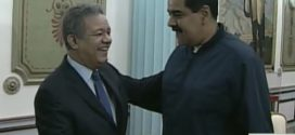 (VÍDEO) MADURO RECIBE A EXPRESIDENTE LEONEL FERNÁNDEZ