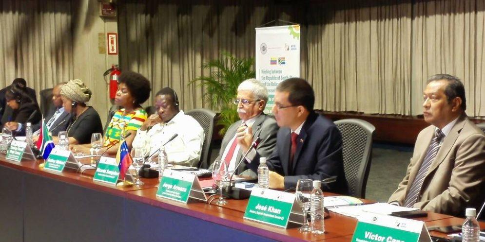 Venezuela y Sudáfrica evalúan mecanismos para concretar alianzas estratégicas en el área de la minería