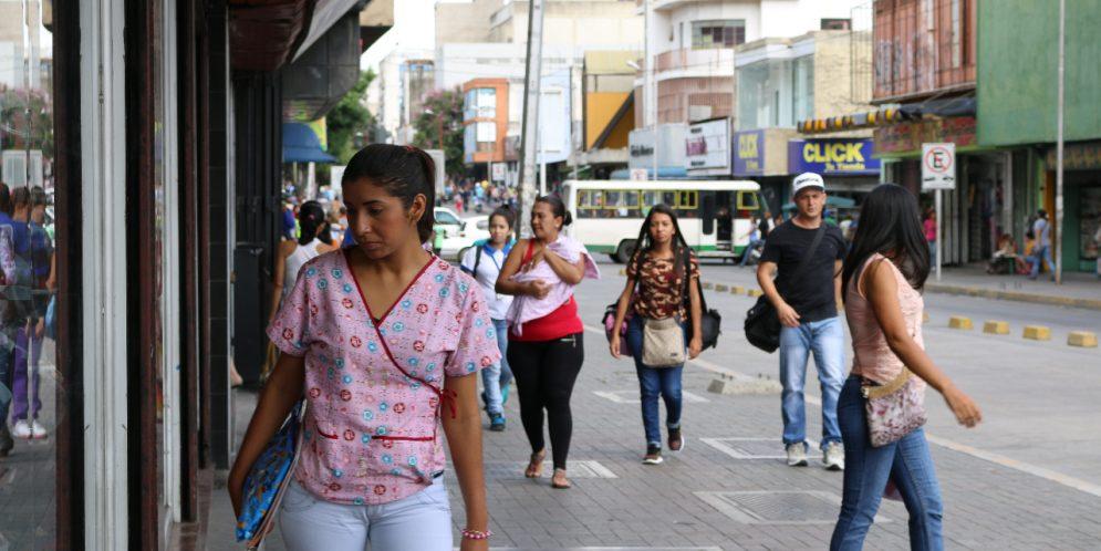 PESE AL PARO DE TRANSPORTE: Comercios del centro de Barquisimeto en completa normalidad