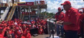 Presidente de Pdvsa inauguró 'Taladro Escuela Hugo Chávez' en Zulia
