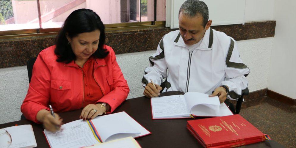 A/J Carmen Meléndez entrega el Ministerio del Despacho Presidencial