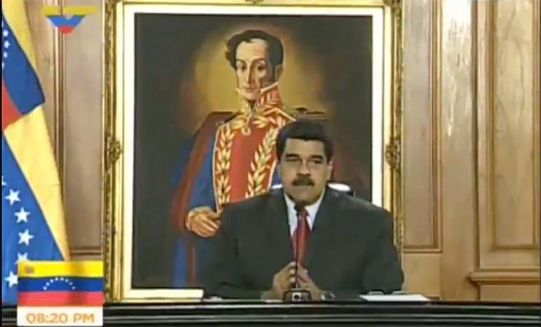 Presidente Maduro denunció ataque terrorista y subversivo contra el MIJ y TSJ