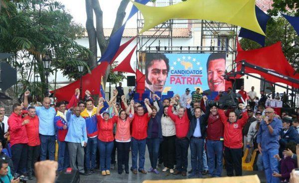 Resultado de imagen para Candidatos de la Patria gobernaciones correo del orinoco 2017