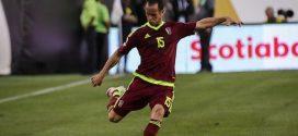 """Federación Venezolana de Fútbol anuncia retiro de """"Lobo"""" Guerra"""
