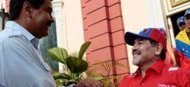 Diego Maradona ratifica su apoyo al Gobierno de Nicolás Maduro