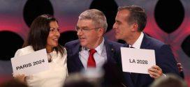 París y Los Ángeles serán sedes de los Juegos Olímpicos de verano en 2024 y 2028