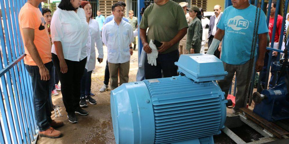 Gobernadora de Lara: Optimizado el servicio de agua en el HCAMP